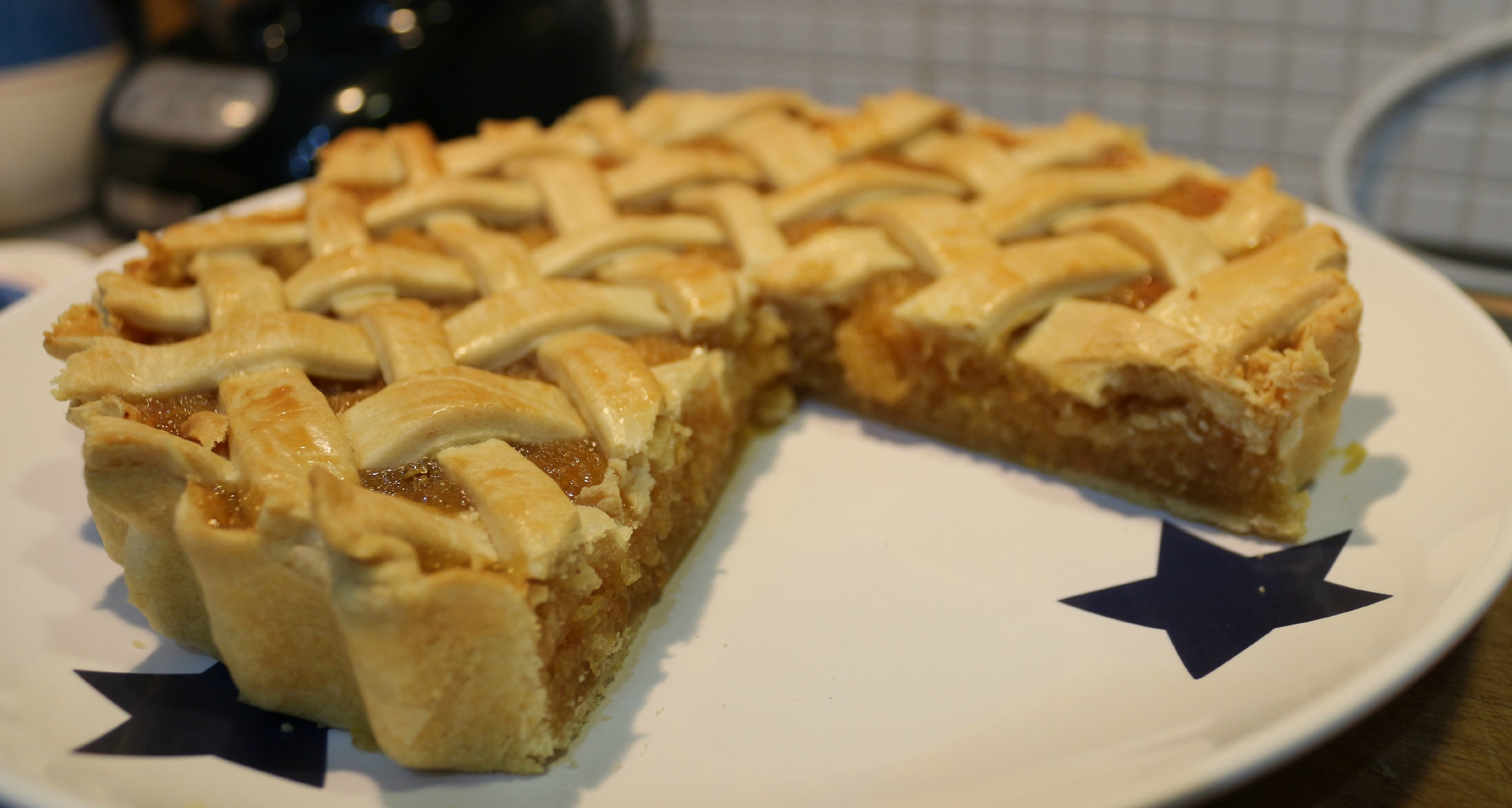 ... and treacle tart fruity flapjack lattice tart apple treacle tart