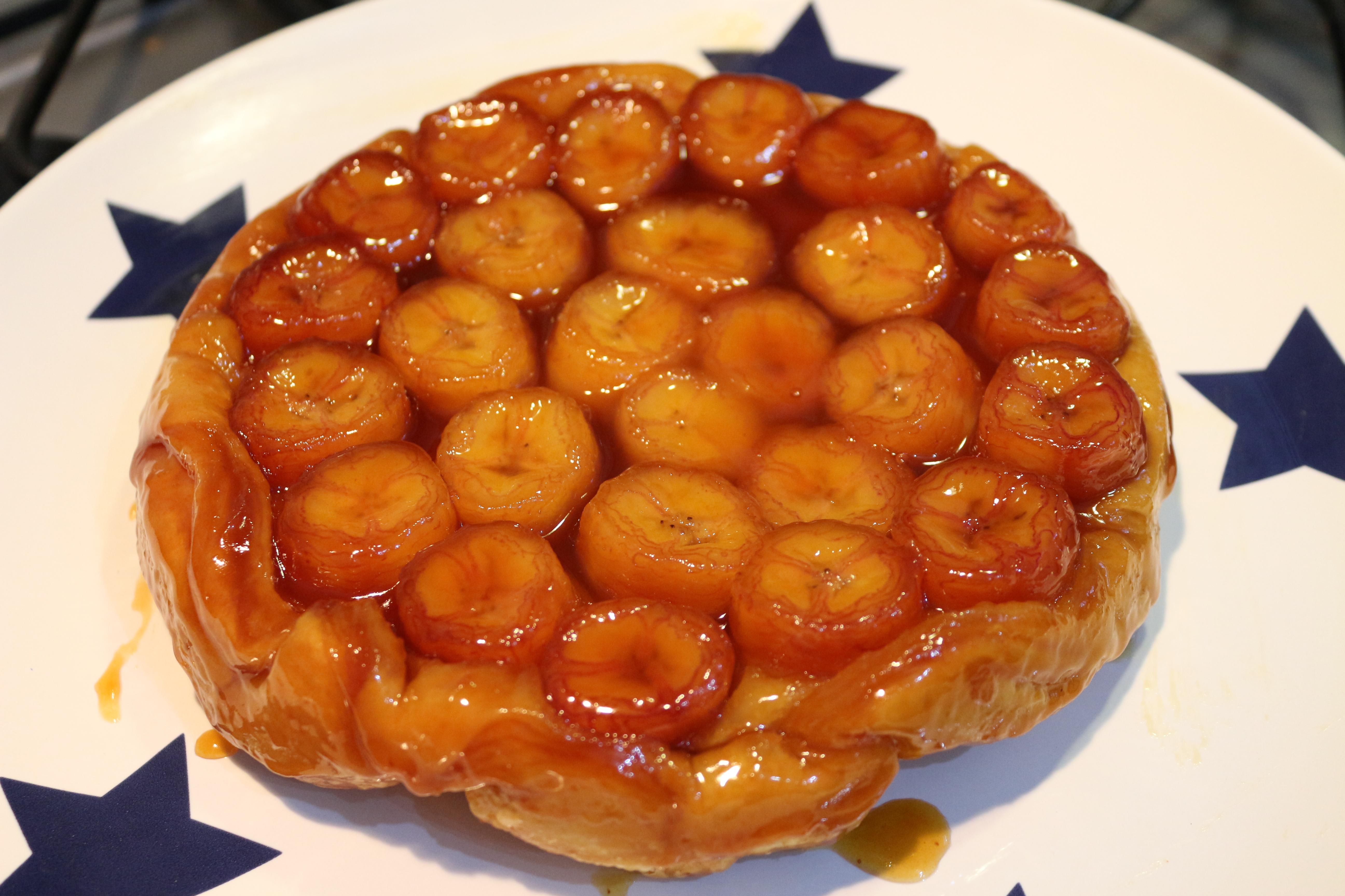 The Great British Bake Off: Banana Tarte Tatin | Baking ...