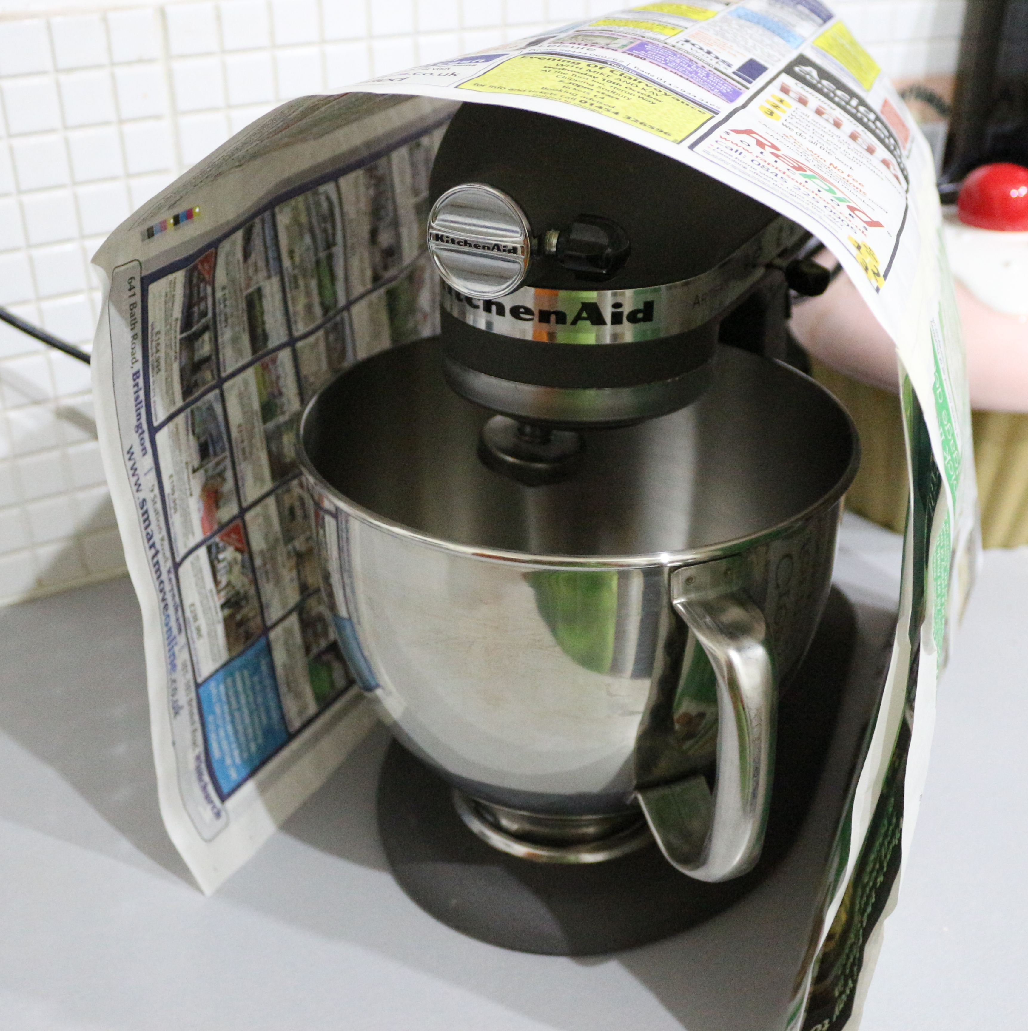 a cover for my kitchenaid baking making and crafting
