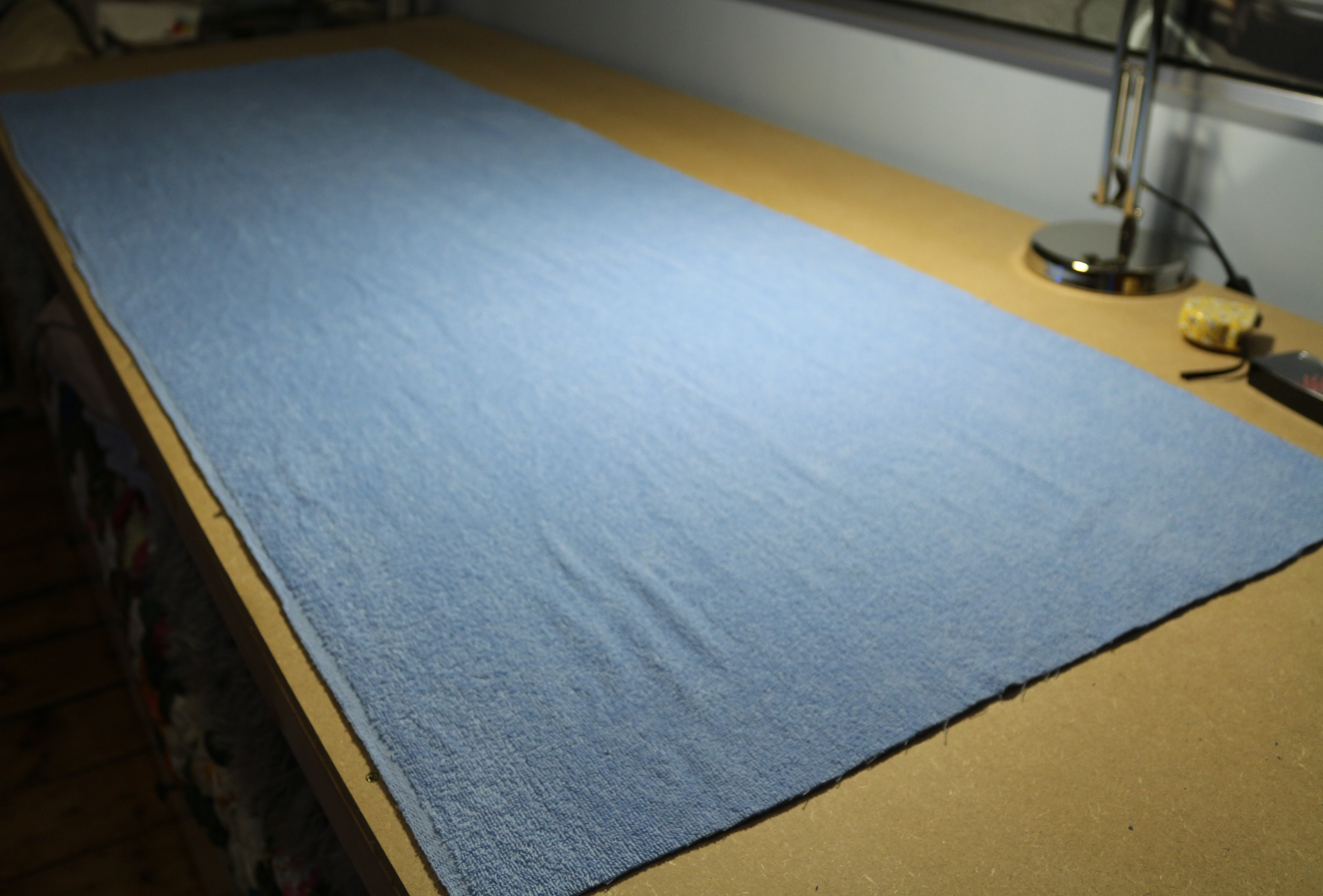 A quick DIY for Yoga: Yoga mat towel  | Baking, Making, and