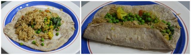 Indian Burrito