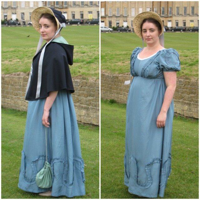 Regency Dress and Cape