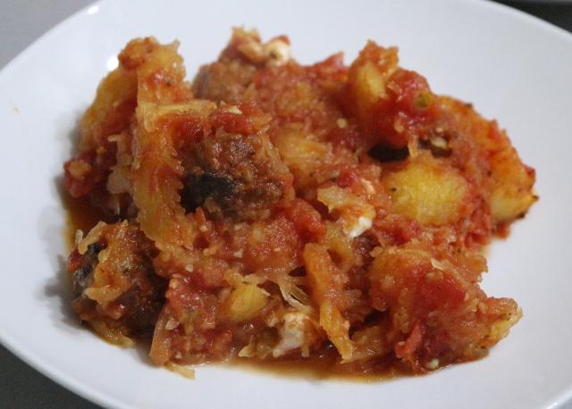 Spaghetti Squash Bake Dish