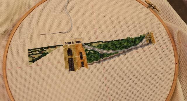 Bridge Cross Stitch