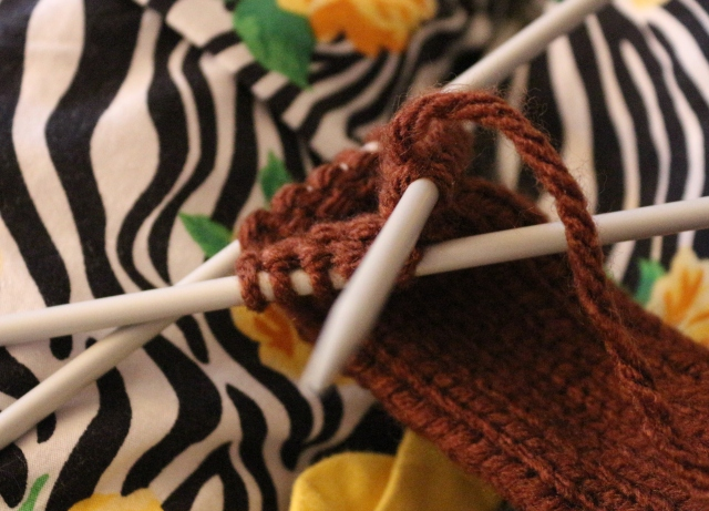 DPN knitting
