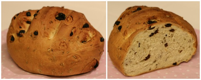 Raisin and Fennel Bread