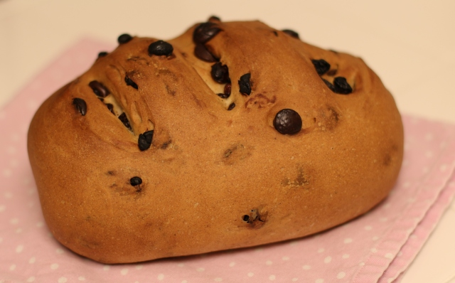 Chocolate, Raisin, and Cinnamon Bread