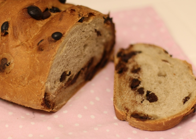 Chocolate, Raisin, and Cinnamon Bread