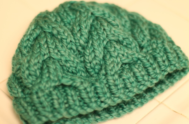 Cozy Cabled hat