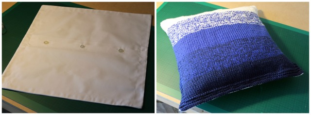 Ombre Knitted Cushion Cover