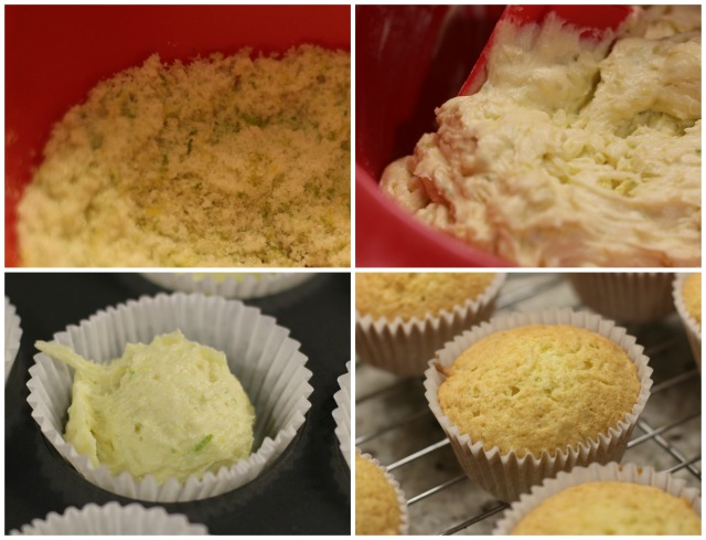 Lime and Coconut Cakes