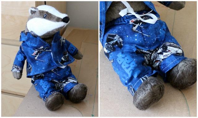 Grävling Pyjamas