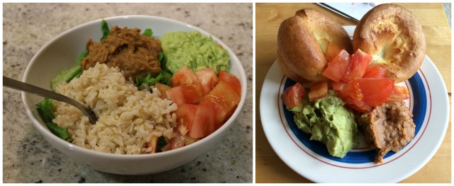 Guacamole and Yorkshire Puddings