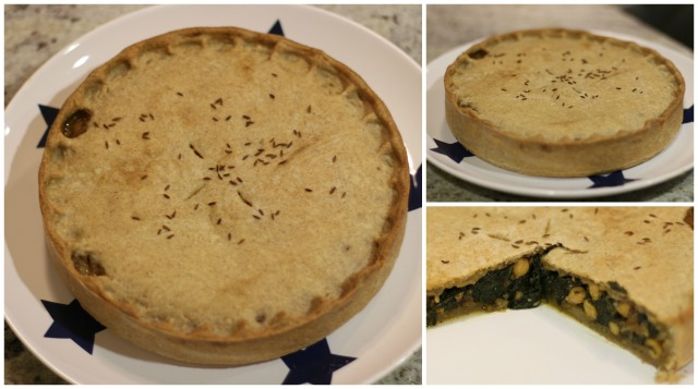 Chickpea and Spinach Pie