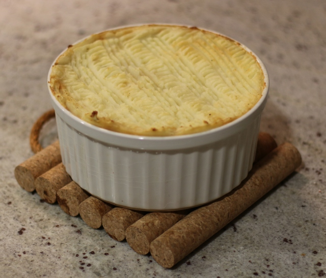(vegetarian) cottage pie