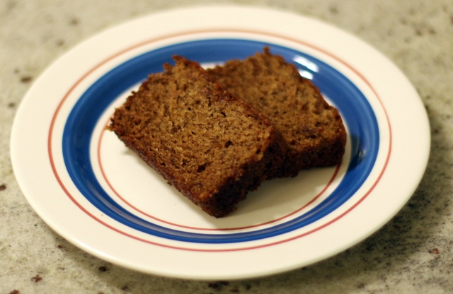 (Almost) Trinidadian Banana Bread