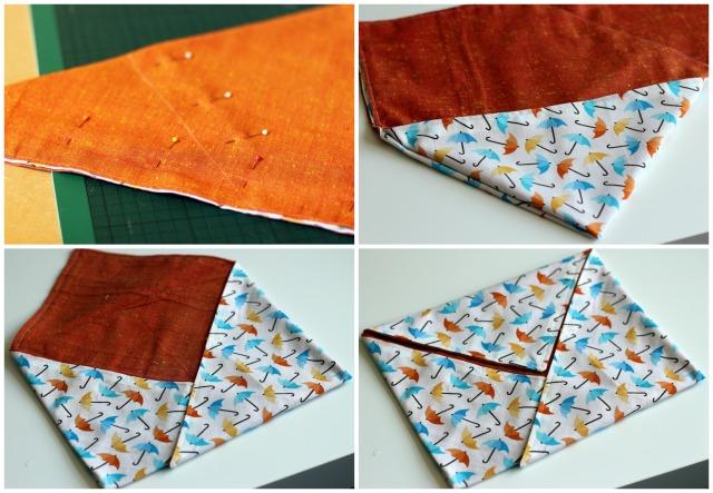 Hana bag: Sewing seams