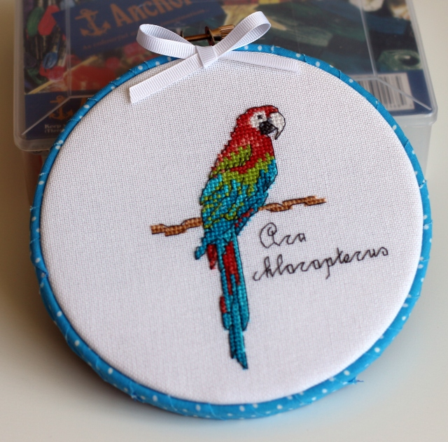 Red and Green Macaw: Ara chloropterus