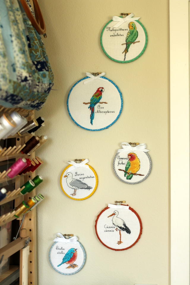 Cross-stitched Birds