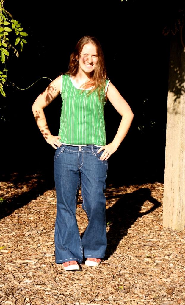 Angela Wolf Slender Bell Jean