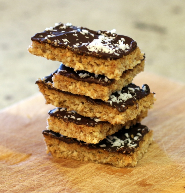 Chocolate Coconut Shortbread