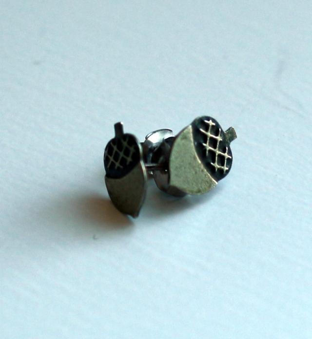 Acorn Earrings