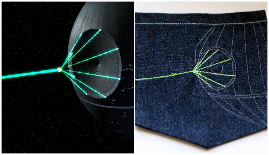Jedediah Pants Death Star Firing Pocket