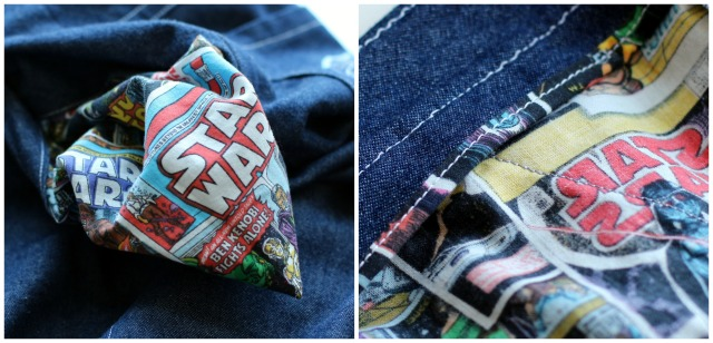 Jedediah Pants Star Wars Pockets and Binding