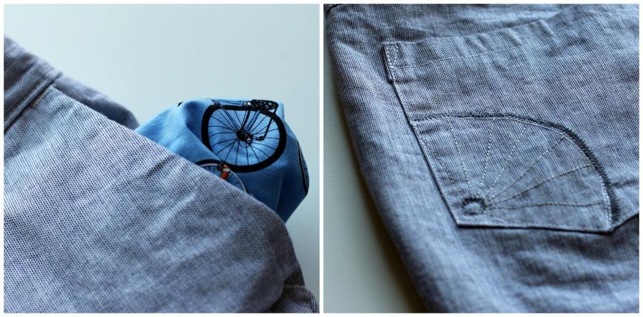 Jedediah Shorts Pockets
