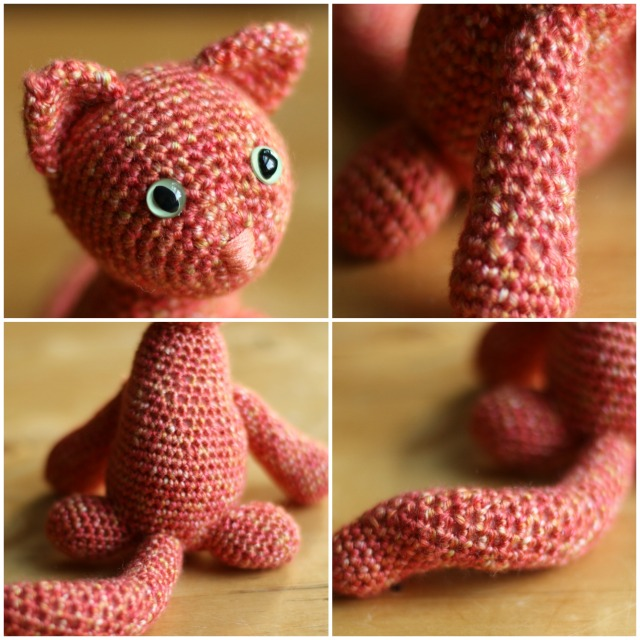 Crochet Cat Details