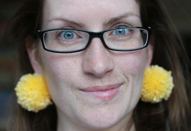 Fluffball Earrings