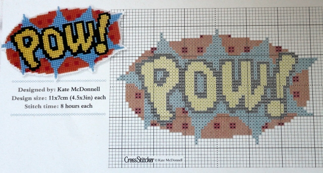 Pow! - CrossStitcher Magazine