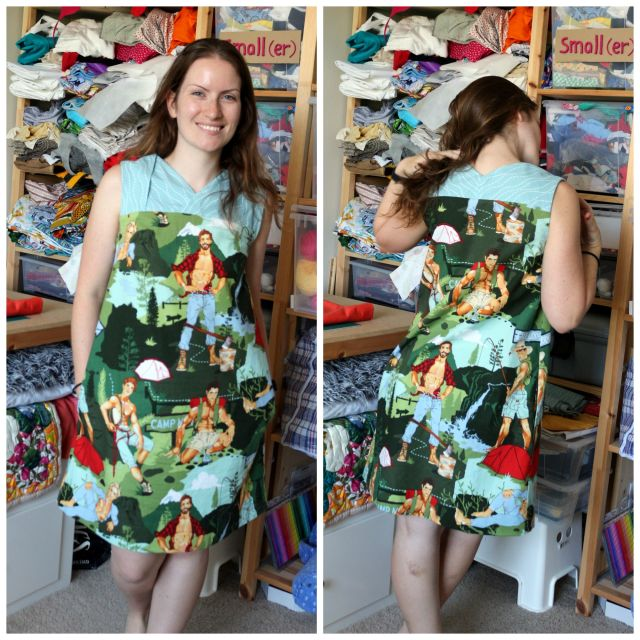 Given a ChanceDress: Wildly Inappropriate Everyday Dress