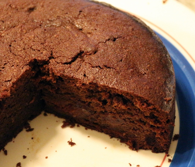 Chocolate and Cherry (Madeira) Cake