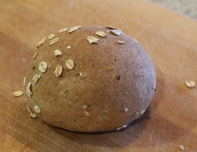 Seedy Wholewheat Rolls