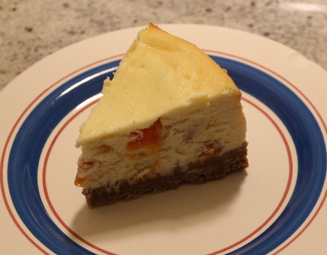Apricot, Honey, and Goat's Cheesecake