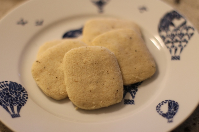 Black Pepper and Cardamom Shortbread