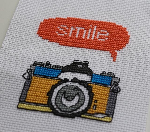 Smile Cross Stitch
