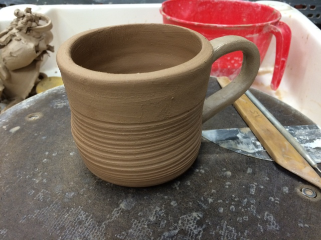 Only slightly wonky mug.