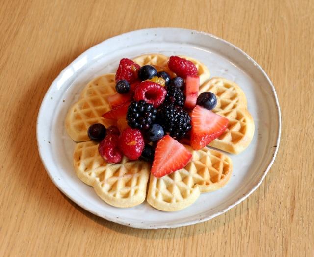 Plate + Waffle