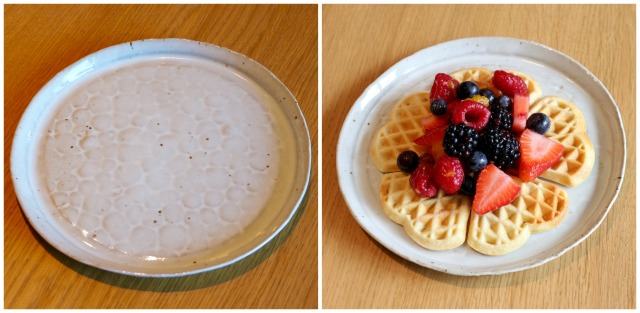 Small Plate + Waffle