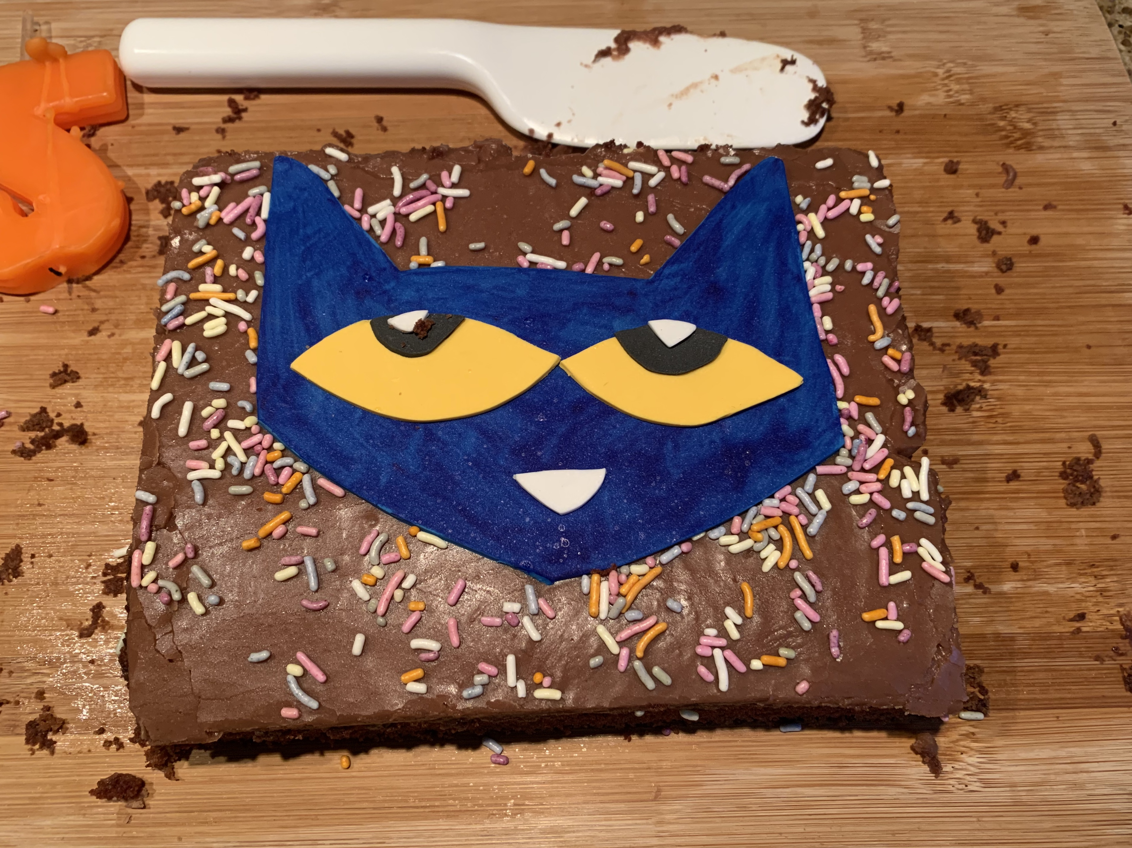 Remarkable Pete The Cat Cake Baking Making And Crafting Funny Birthday Cards Online Drosicarndamsfinfo